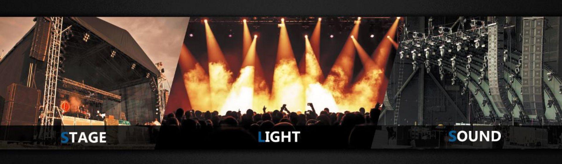 Oświetlenie Wynajem Sceny Barierek Koncertowych